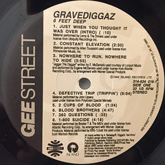 GRAVEDIGGAZ:6 FEET DEEP(LABEL SIDE-A)