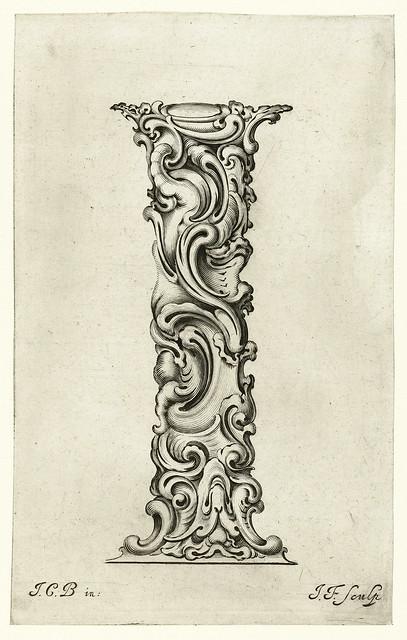 010- Letra I-Libellus Novus Elementorum Latinorum -J. C. Bierpfaff-  Rijksmuseum