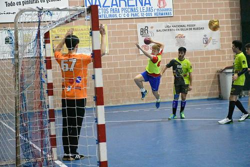 Balonmano Nazareno masculino segunda nacional y