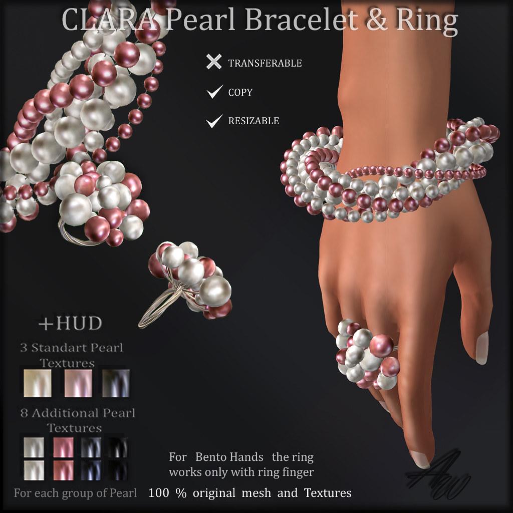 AvaWay CLARA Bracelet&Ring