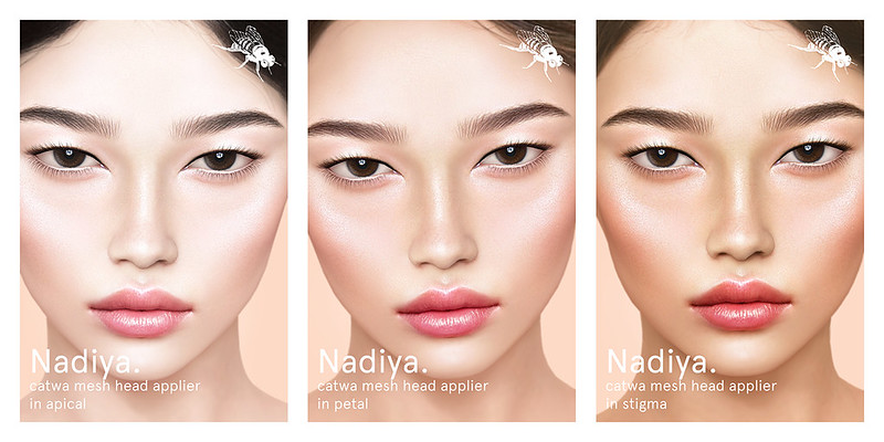 !Imabee: Nadiya - CATWA Bento Head Applier