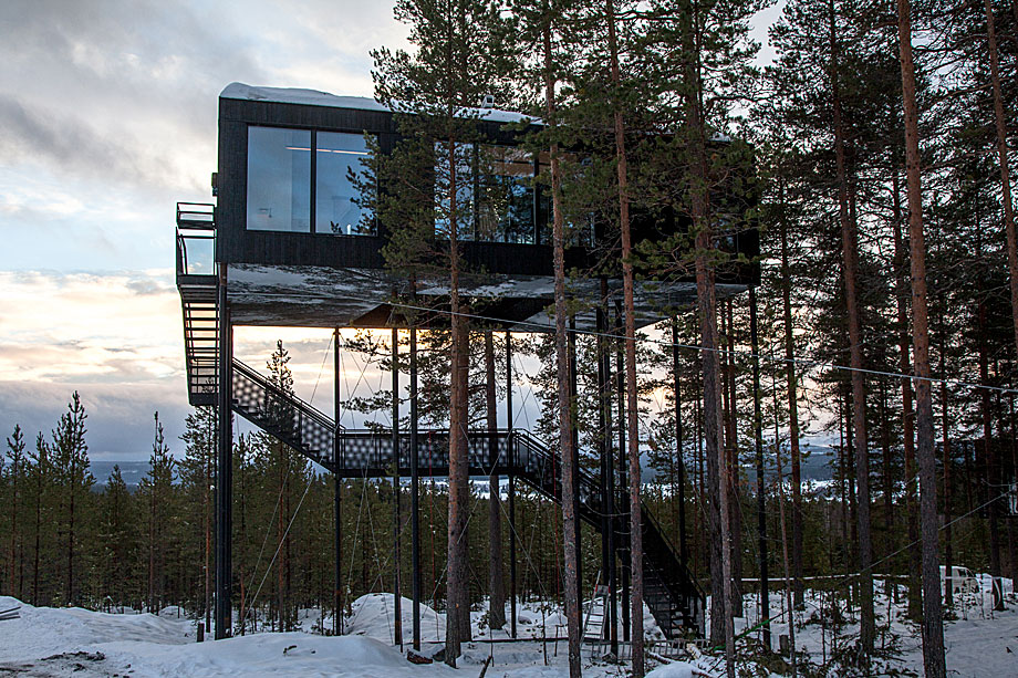 Hotel en el Círculo Polar Ártico