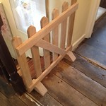 Timber Framer - Stair Gate