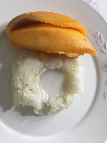 Sticky rice with mango, Bangkok