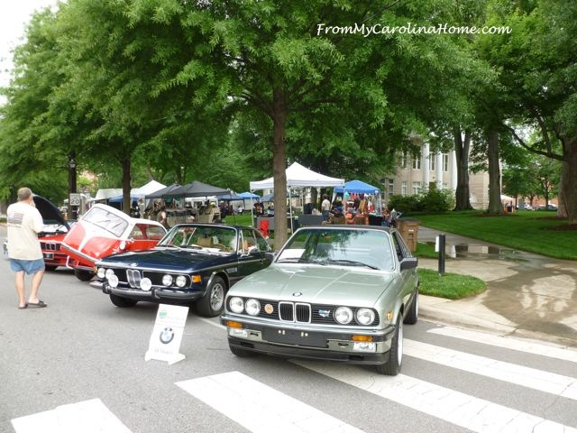 Shelby Car Show at From My Carolina Home