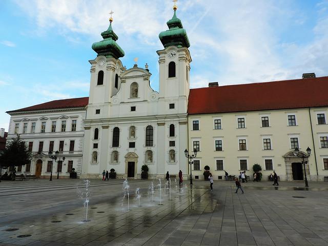 Széchenyi Square, Győr, Hungary