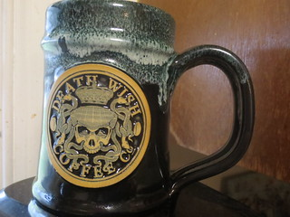 Death Wish Coffee 2017 St. Patricks Day Special Edition Mug by Deneen Pottery | by terrapin719