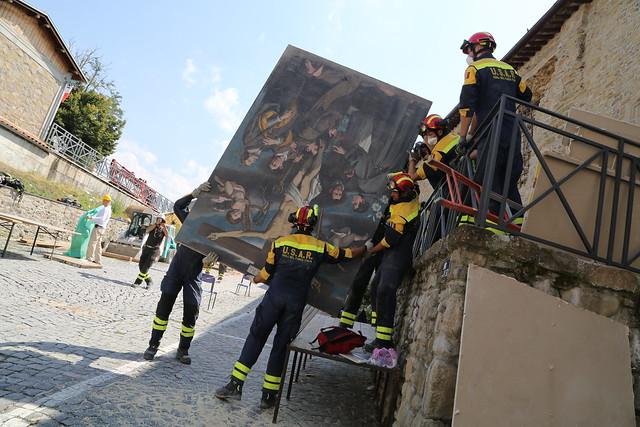 Terremoto centro Italia: beni culturali