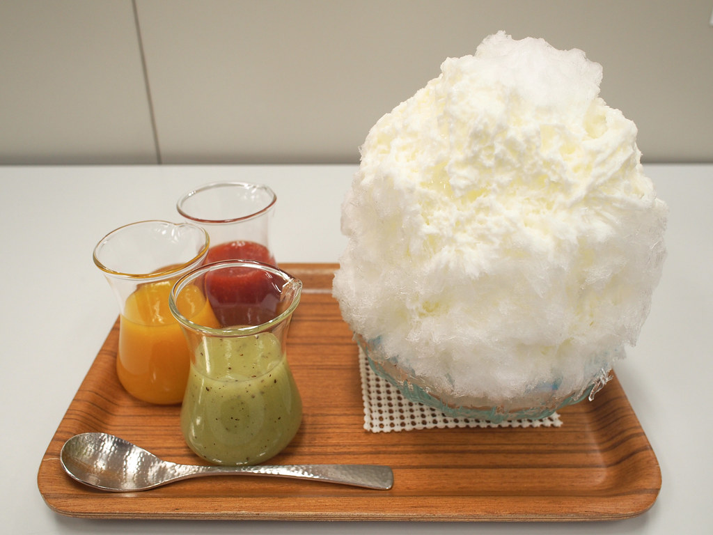 Japanese Ice Shaved - Colour Combination   埜庵 彩り氷