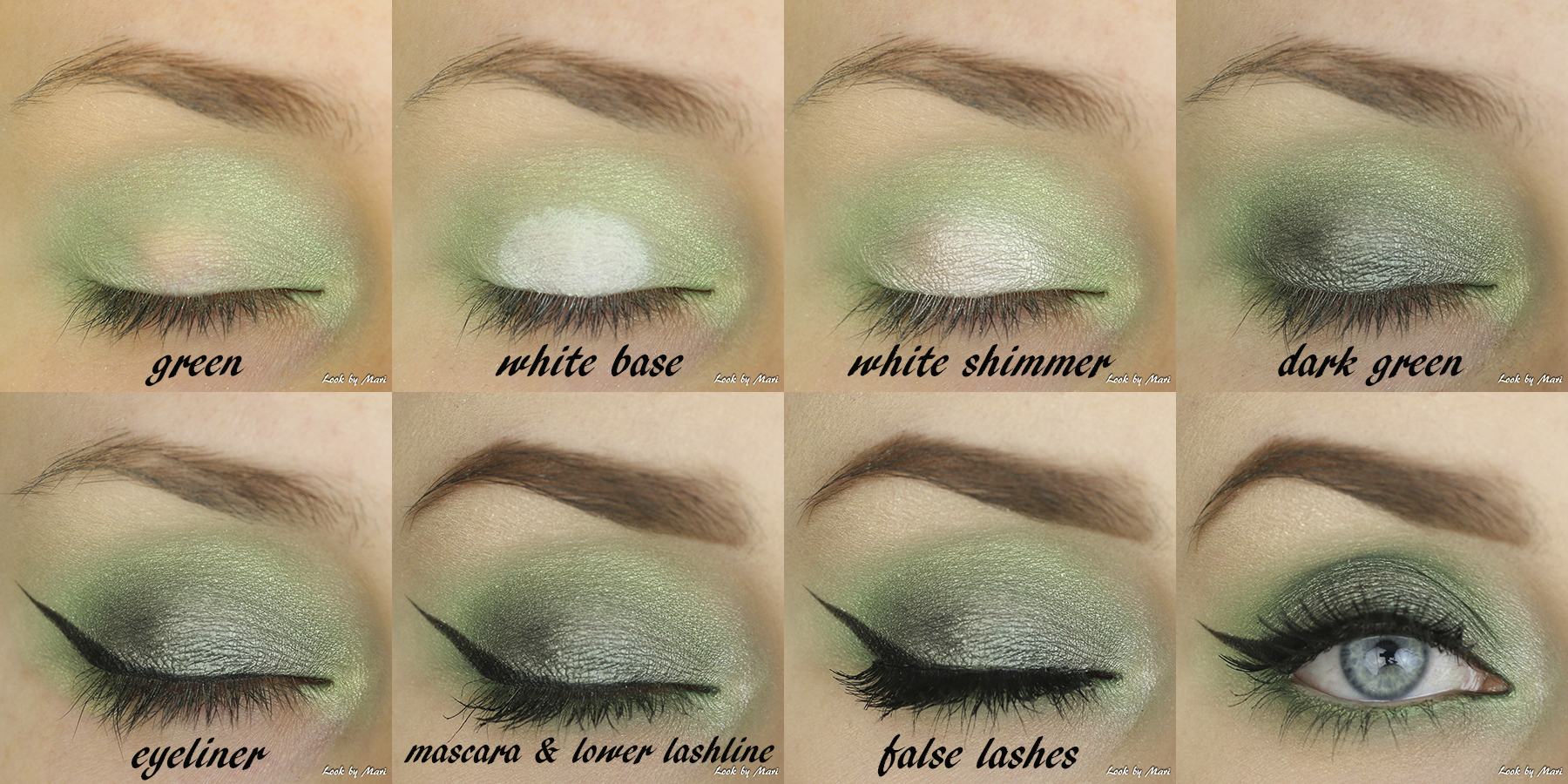 5 green eye makeup smoky eyes tutorial ideas inspo
