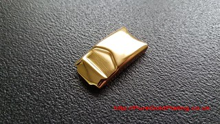 Tag Heuer Clasp in Gold Plate | by PureGoldPlating