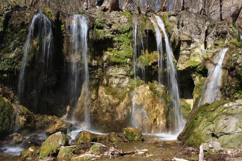 Haj village - Hajske waterfalls and statue of an angel from Behind Enemy Lines movie (2001)
