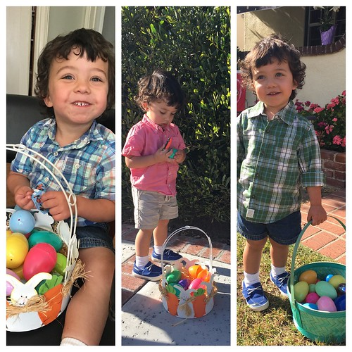 Riley's Easter baskets