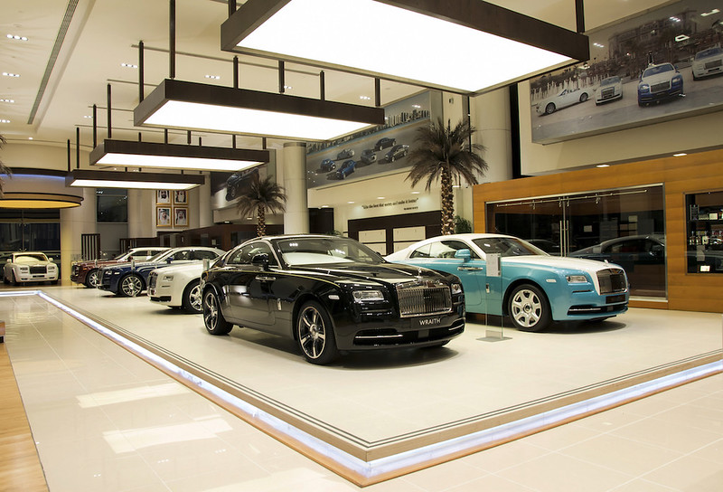 RR Showroom Interior