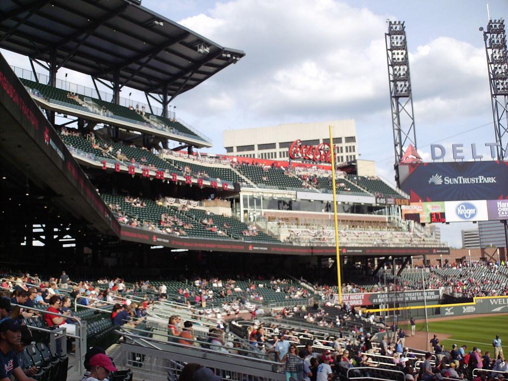 Suntrust Park In The Ballparks