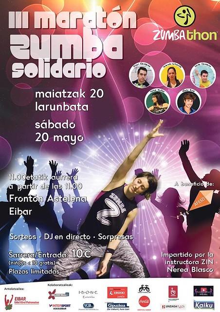 III Zumbathon Eibar: 20 de Mayo del 2017