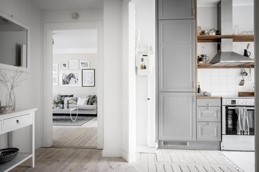 Small Scandinavian Home with Soft Feminine Vibes