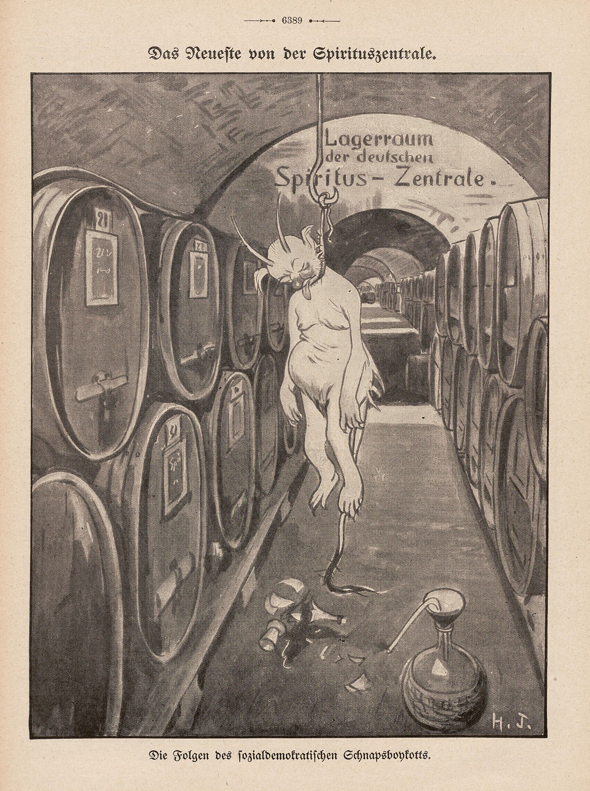 Hans Gabriel Jentzsch - The latest from the Spiritus headquarters, 1909