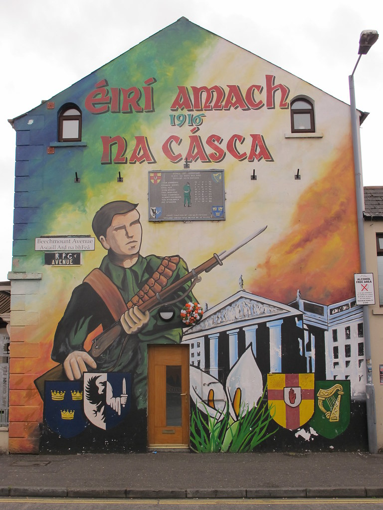201 Ir 237 Amach Na C 225 Sca Mural Commemorating The 1916 Easter