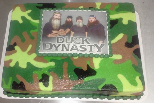 Duck Dynasty Cake Pan