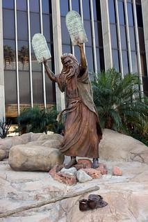 Moses and 10 Commandments