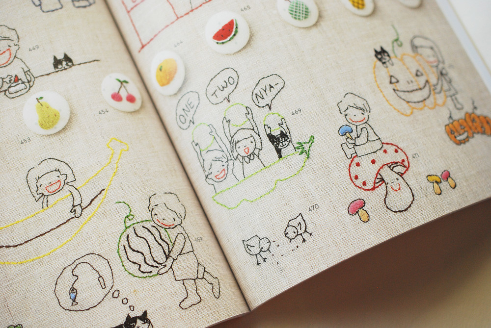 Japanese embroidery book wildolive flickr