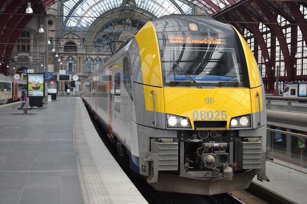 Afbeeldingsresultaat voor trein nmbs