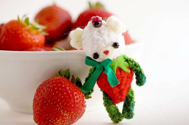 strawberry bear de marce