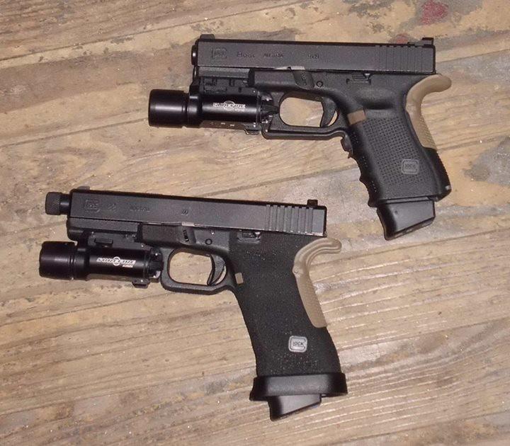 glock 22 gen 3 converted to 9mm and glock 19 gen 4 flickr