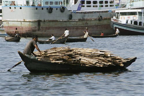 Transporting lumber | by World Bank Photo Collection