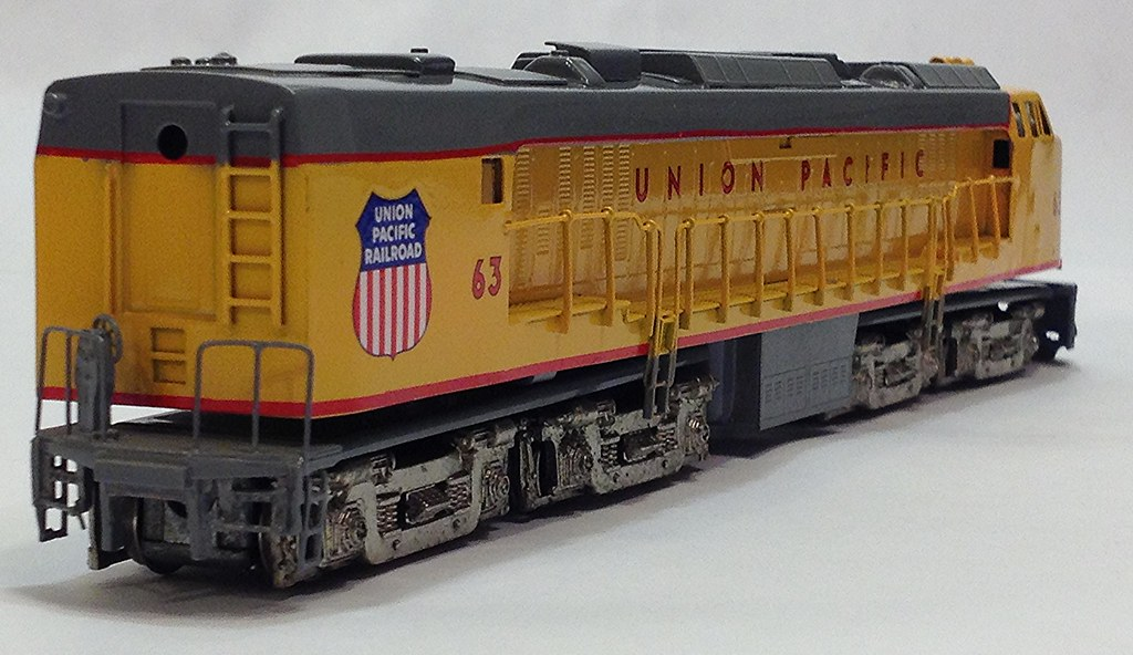 UNION PACIFIC GAS TURBINE #63 - HO SCALE BRASS BY TRAINS I