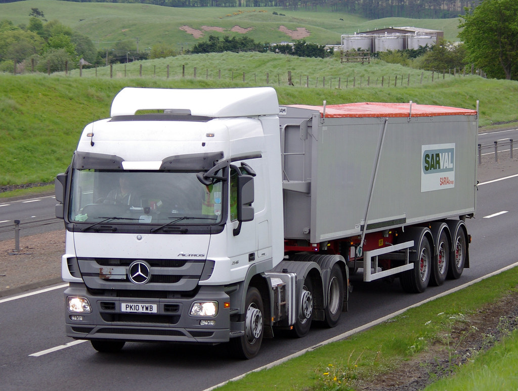 ... SARVAL Mercedes Actros 2546 PK10YWB | by andyflyer