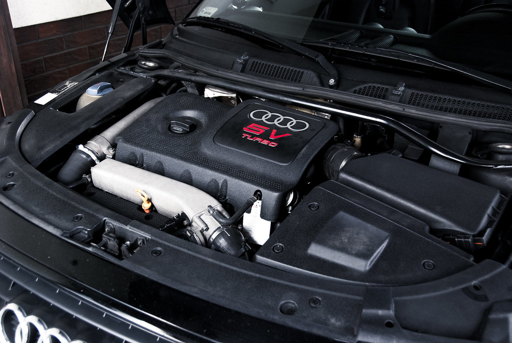 Under The Hood Audi Tt Quattro Przemeksz Flickr