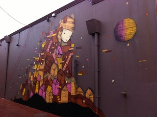 Morning Walk, 7 July 2014: Another Mural That Is So Much Nicer Than The One at Prinsep and Victoria | by Miss Shari