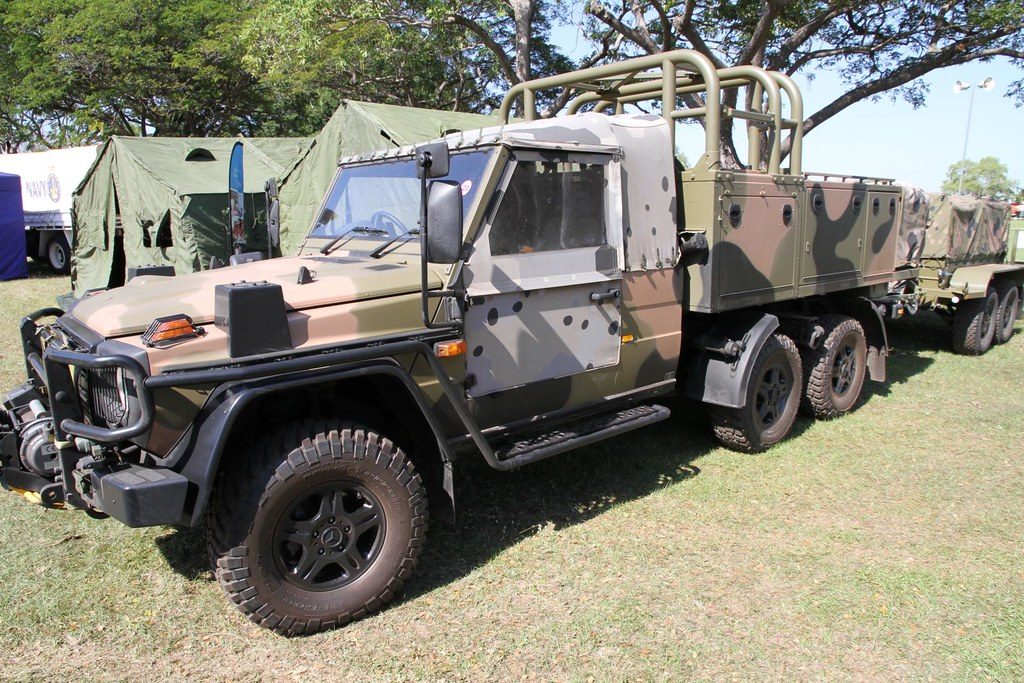 Australian army norforce mercedes benz g wagon 6x6 patrol for Mercedes benz g wagon 6x6 for sale