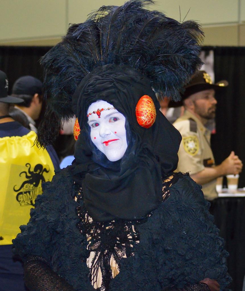 Princess amidala black dress