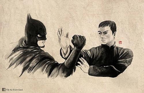 IP MAN VS BATMAN