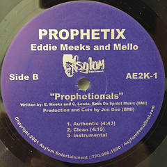PROPHETIX::THE URBAN GRIT(T.U.G.)(LABEL SIDE-B)
