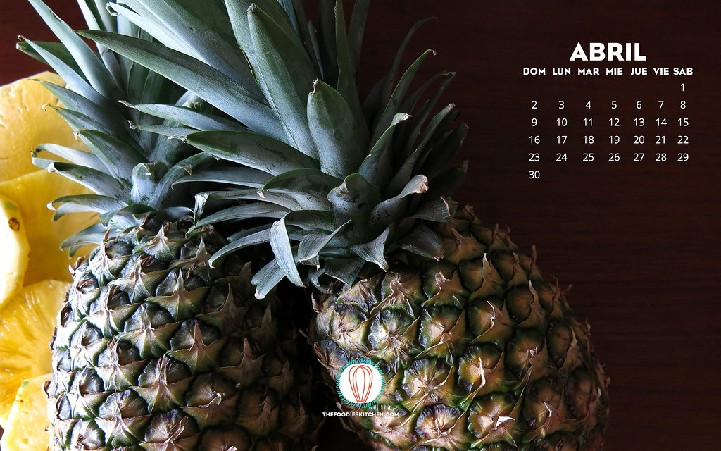 Foodies Freebie: April 2017 Wallpaper Collection