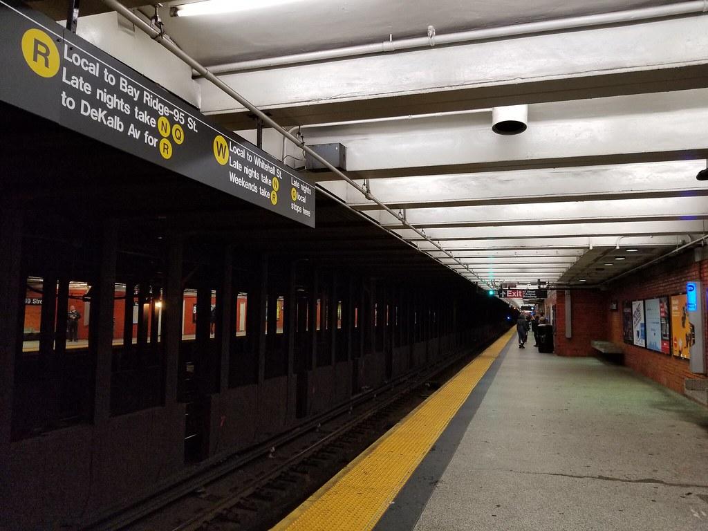 Suasana di dalam salah satu subway di New York, Amerika Serikat. Liputan6.com/Iskandar