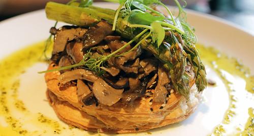 Mushroom Tart - Browns Sheffield