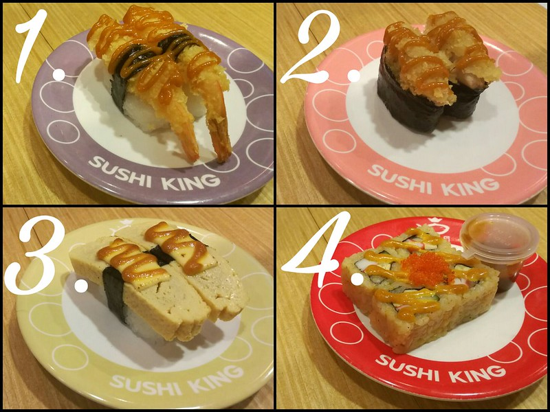 Sushi King Japanese Curry Menu