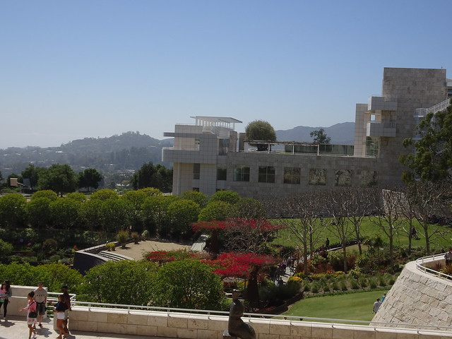Looking Over the Gardens