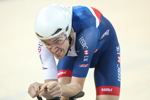 Great Britain Cycling Team at the 2017 UCI Track Cycling World Championships - day three