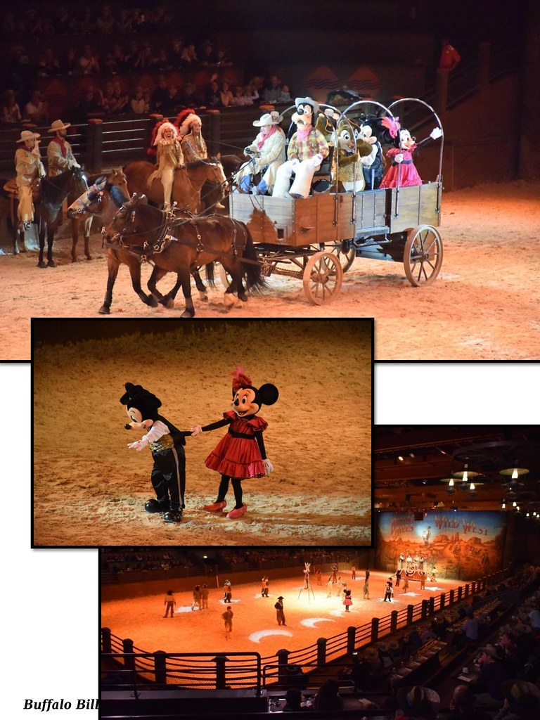 Bufallo Bill Wild West Show en Disneyland París