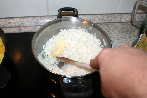 54 - Reis mit Butter verfeinern / Refine rice with butter