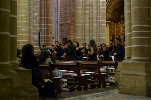 Concert at the Cathedral - Evora, Portugal