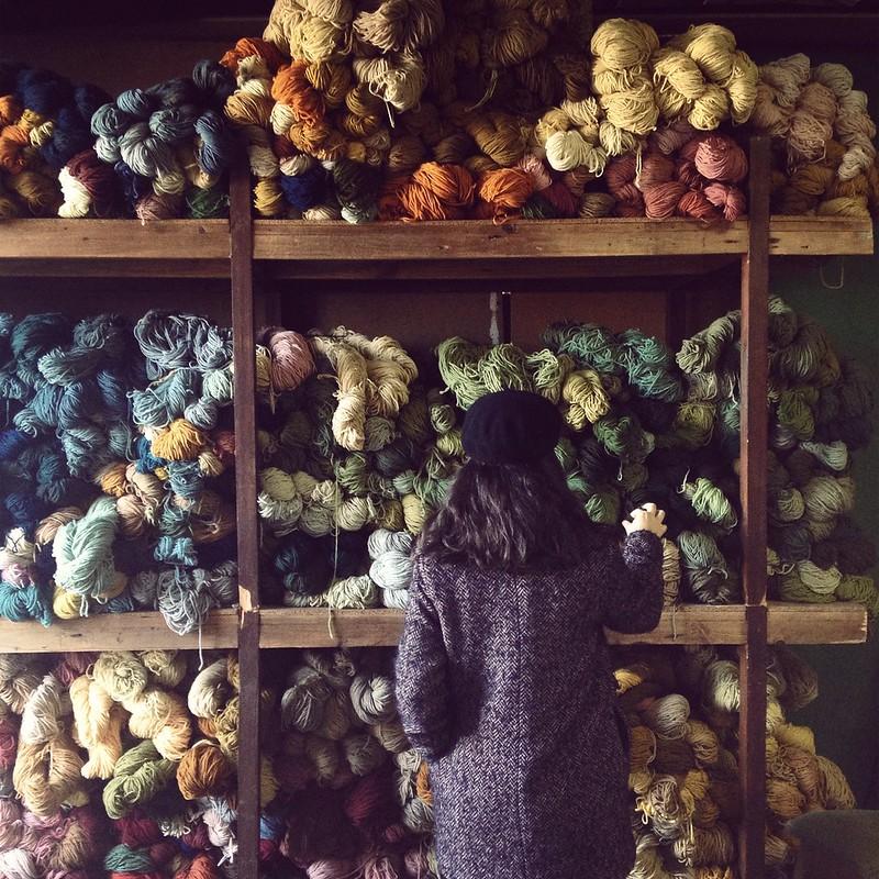 Na Mesclamalva, antiga fábrica de lanifícios Camello