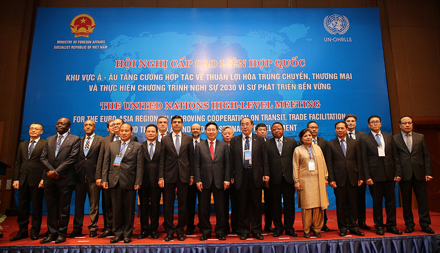 High-Level Meeting for the Euro-Asia Region on Improving Cooperation on Transit, Trade Facilitation and the 2030 Agenda for Sustainable Development, 7-9 March, 2017 Vietnam