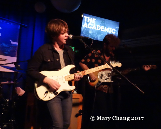 The Academic, The Velveeta Room, Music from Ireland showcase, Friday 17 March 2017